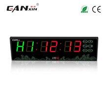 [GANXIN] питание светодио дный от аккумулятора светодиодный тренажерный зал crossfit интервал таймер часы с tabata для спортивных тренировок