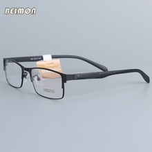 Belmon Eyeglasses Frame Men Computer Optical Prescription Nerd Transparent Clear Lens Eye Glasses Spectacle For Male 964