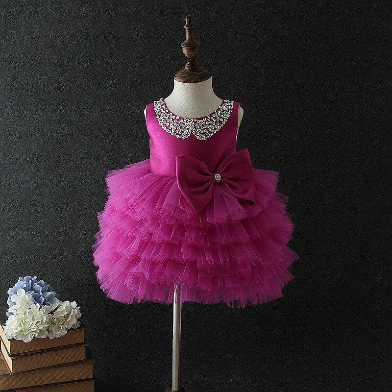 7c62b3af8b0d0 Latest Set Of One Year Old Baby Girl Birthday Dress Princess Wedding ...