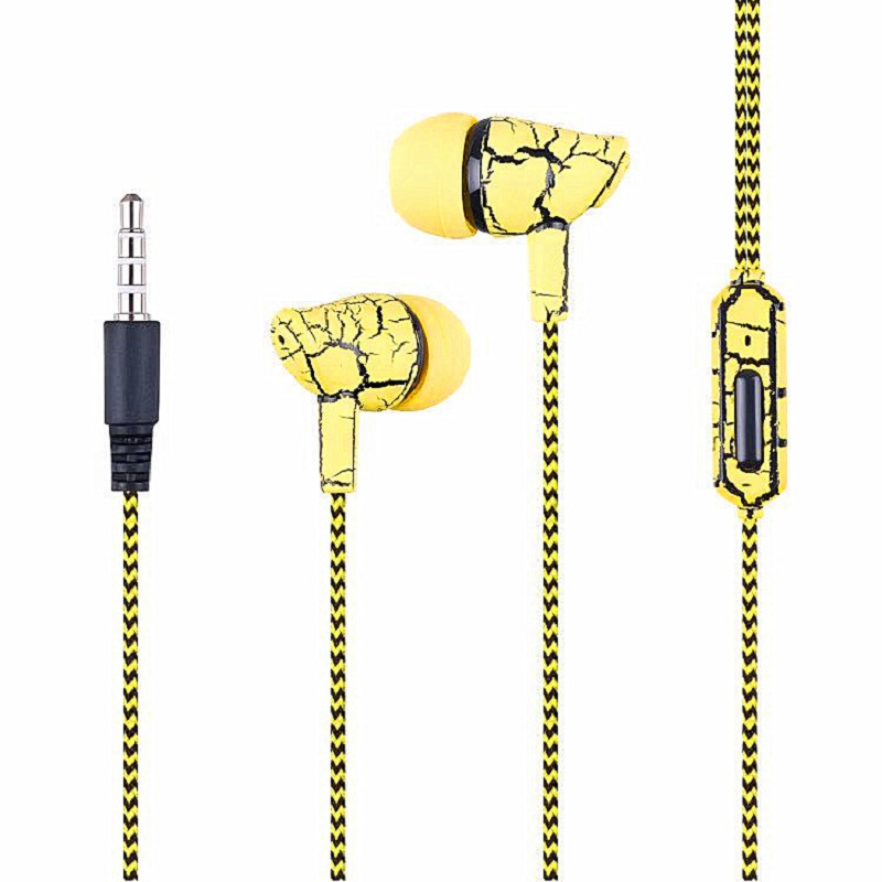 Crack Earphone ME12 Earbuds Hot Sale Headset for Mobile Phone Xiaomi PC Gaming