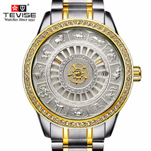 2018 TEVISE Men Automatic Mechanical Watch