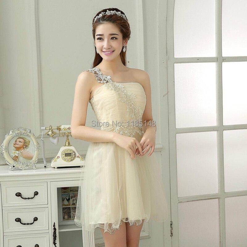 retail bride dress evening dress 2014 new fashion short