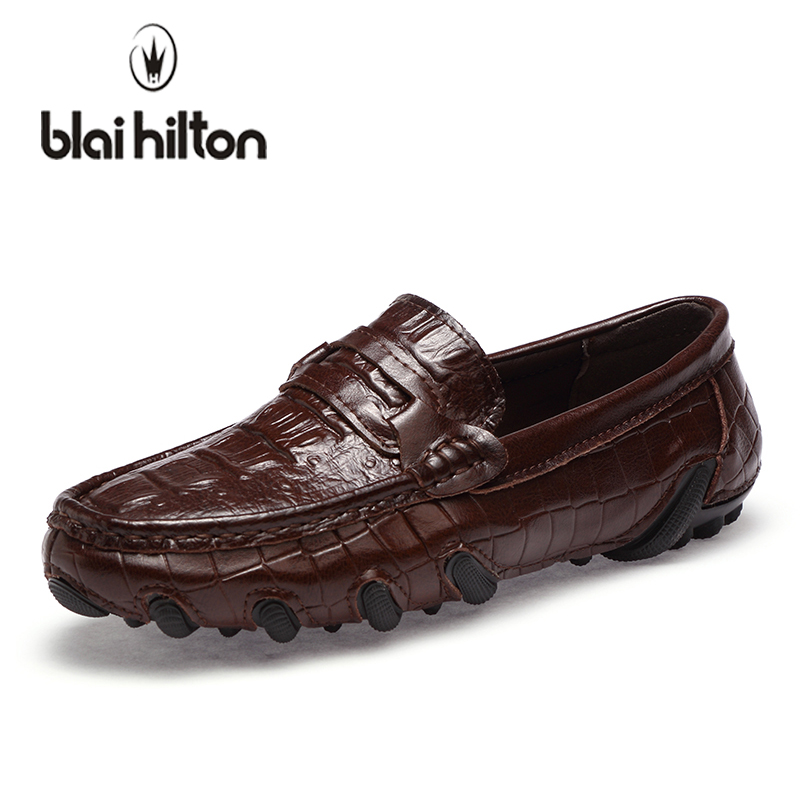 blaibilton Summer Walking Luxury Octopus Loafers Men Casual Shoes Genuine Leather Fashion Boat Moccasins Male Slip-On Driving blaibilton summer loafers men shoes 100