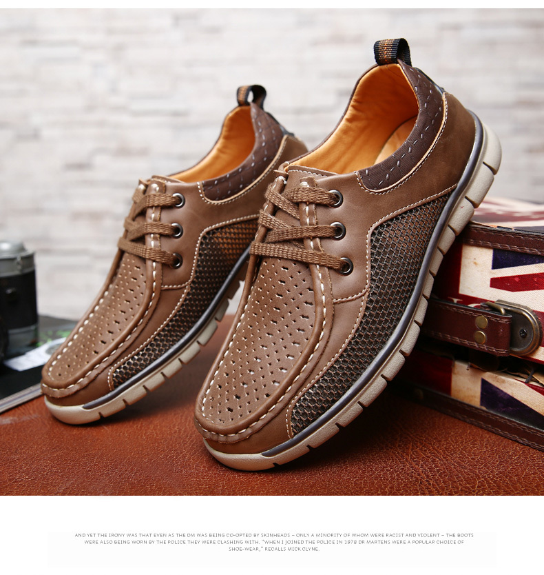 Aliexpress.com : Buy Breathable Mens Leather Shoes 2015 Casual ...