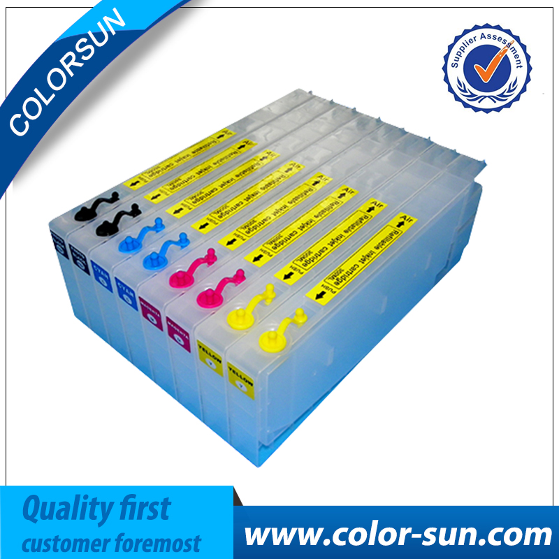 New Printer Ink Cartridges for Epson Pro7400 Pro9400 for Cartridge T5668 T5678 with resettable chips with resetter t5971 700ml refill ink cartridge with chip resetter for epson stylus pro 7700 9700 7710 printer for epson t5971 t5974 t5978