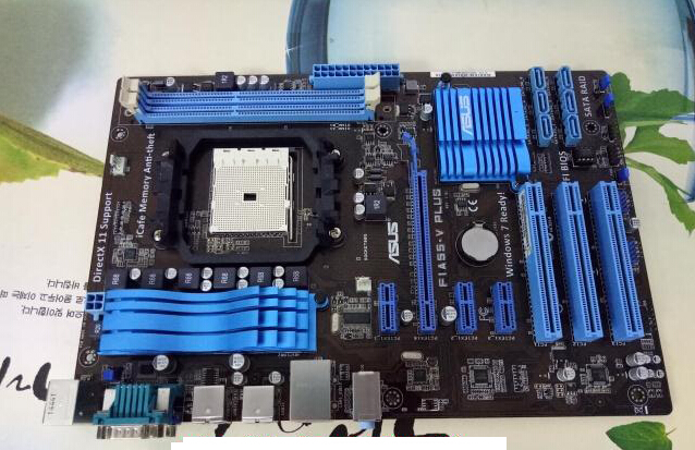 цена Free shipping original motherboard for ASUS F1A55-V PLUS Socket  FM1 DDR3 boards A55  Desktop motherboard