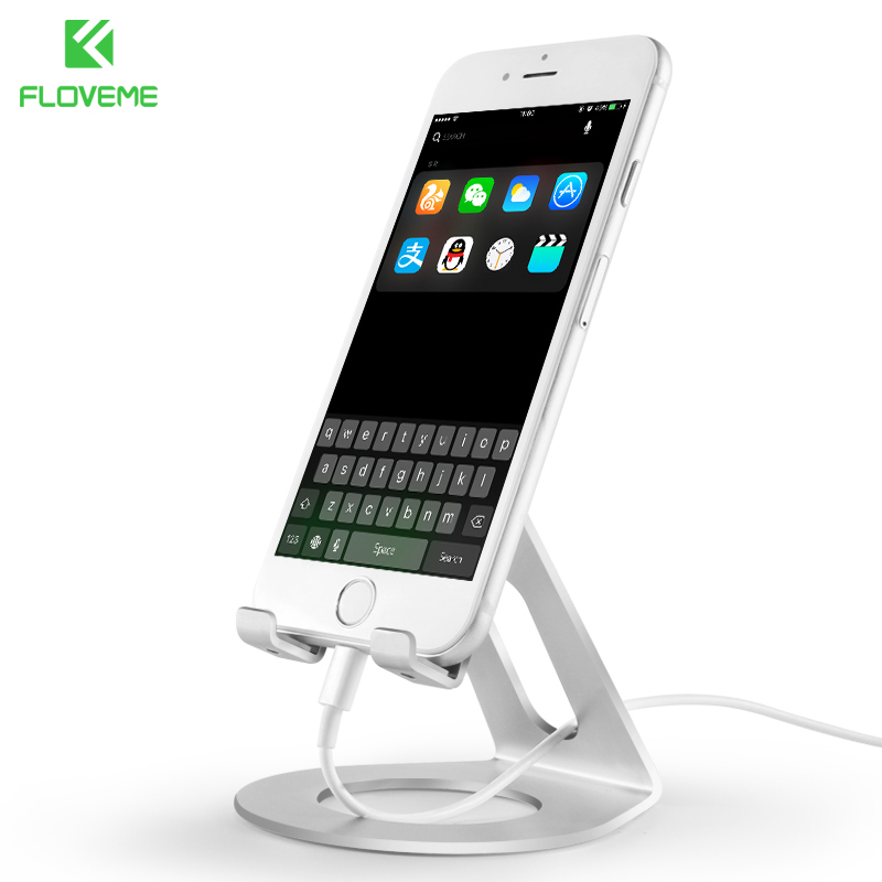 FLOVEME Phone Holder For iPhone 7 8 X Universal Mobile Phone Stand For Samsung Xiaomi Smartphone Tablet iPad Luxury Desk Holder