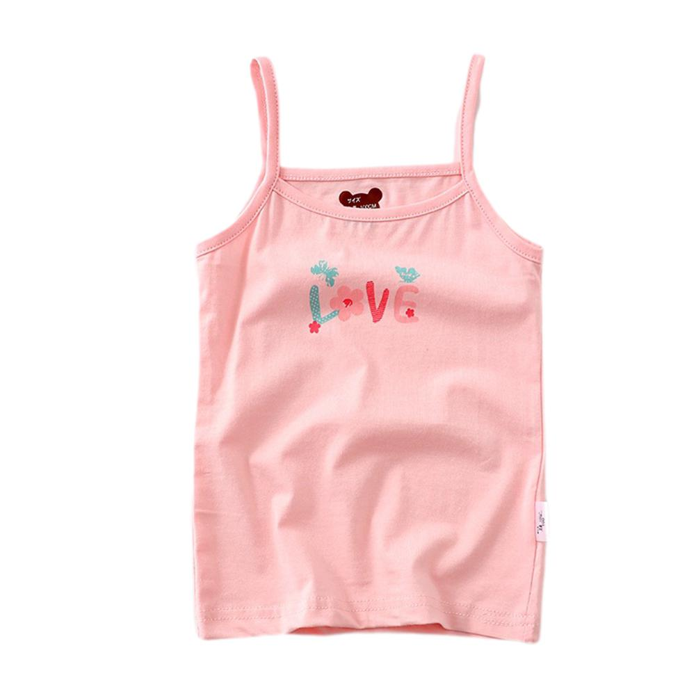 Cute Cartoon Printing Camisole Vest for Kids Girls in Tanks Camis from Mother Kids