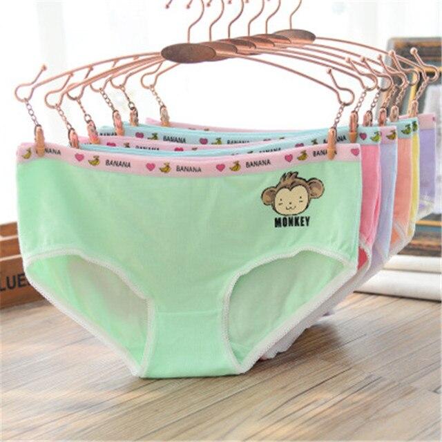 781a1ef50df Good Quality 3PCS Girls Panties Organic Cotton Underwear Kids Pants Teen  Underwear For Girl Children's Panties