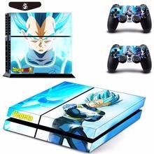 Dragon Ball Super Vegeta Super Saiyan God Blue Skin Decal for PS4