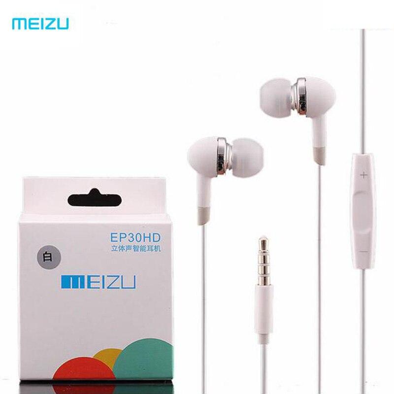 imágenes para Meizu ep30hd sonido estéreo en la oreja los auriculares auriculares con micrófono y volumen botón de Auriculares Para Meilan M7 M8 M9 PRO MX3 MX4 MX5 xiaomi