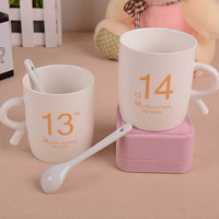 Starbucks Couple Water Cups Valentine S Day Present Birthdays Gifts Ceramic Coffee Milk Tea Cup 1314