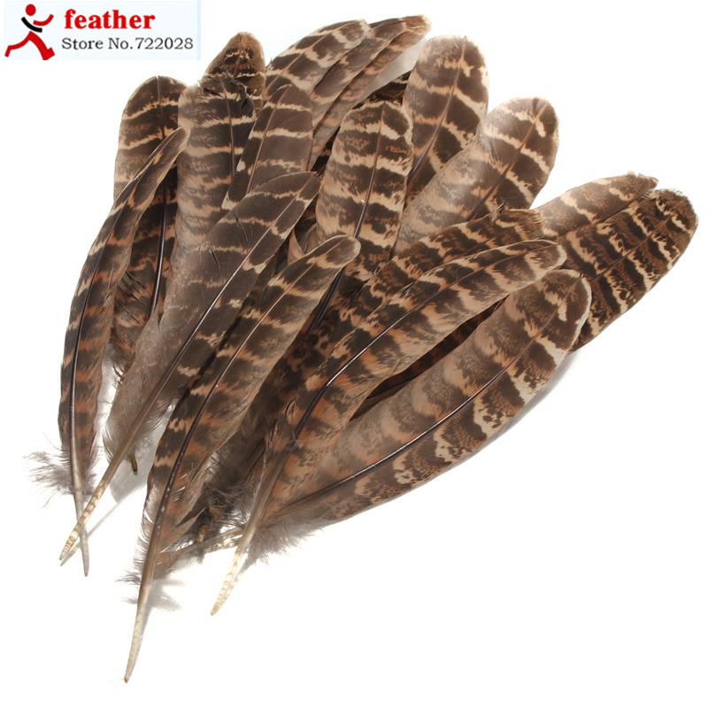 100Pcs hen pheasant wing feathers fly tying millinery art floral display 2 orders