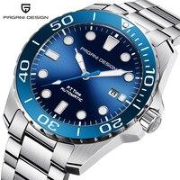 PAGANI DESIGN 2019 New Sport Business Stainless Steel Men Watches Luxury Brand Men Fashion Mechanical Wrist Watch dropshipping