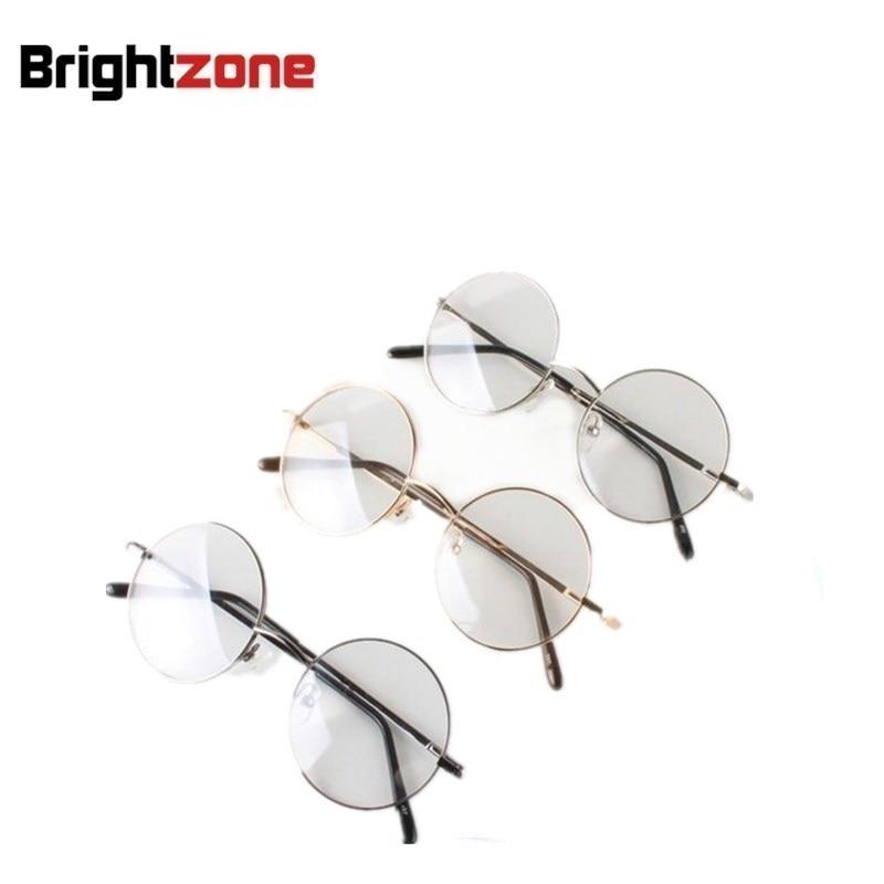57923b606a4fd Classic Metal Harry Potter Johnny depp Steve Jobs Round Frame Eye Glasses  Frame Oculos Wholesale Multi