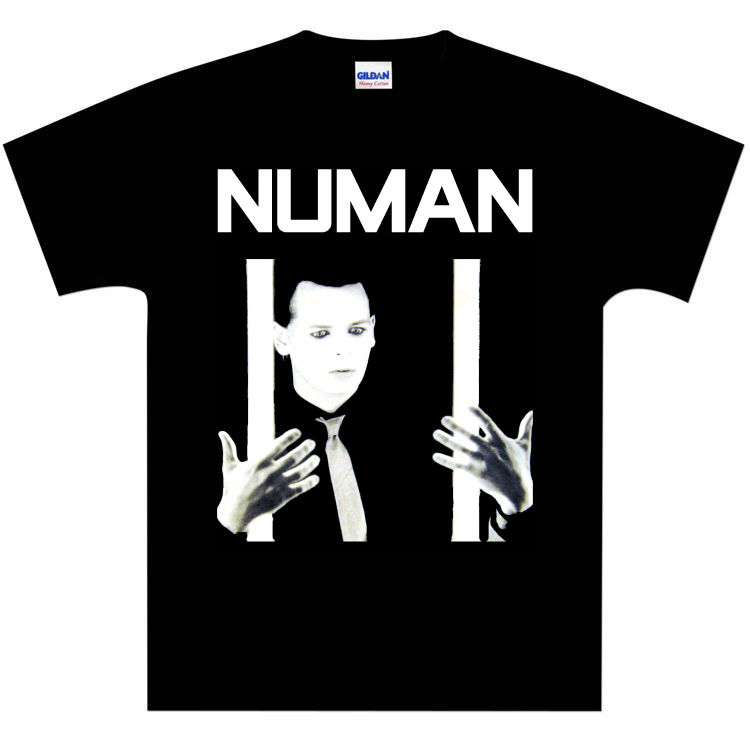 Gary Numan (Tubeway Army) Cars Light Bars T-Shirt - NEW Normal Short Sleeve Cotton T Shirts Interesting Pictures