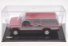 IXO Altaya 1:43 Scale Chevrolet Veraneio Custom 1993 Toys Car Diecast Models Limited Edition Collection(China)