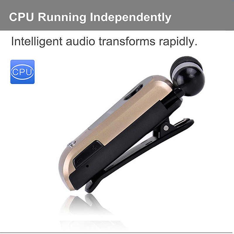 Оптовая продажа FineBlue F920 мини беспроводной Bluetooth гарнитура звонки напомнить износ вибрации клип Bluetooth спортивные наушники для бега 10 шт./лот