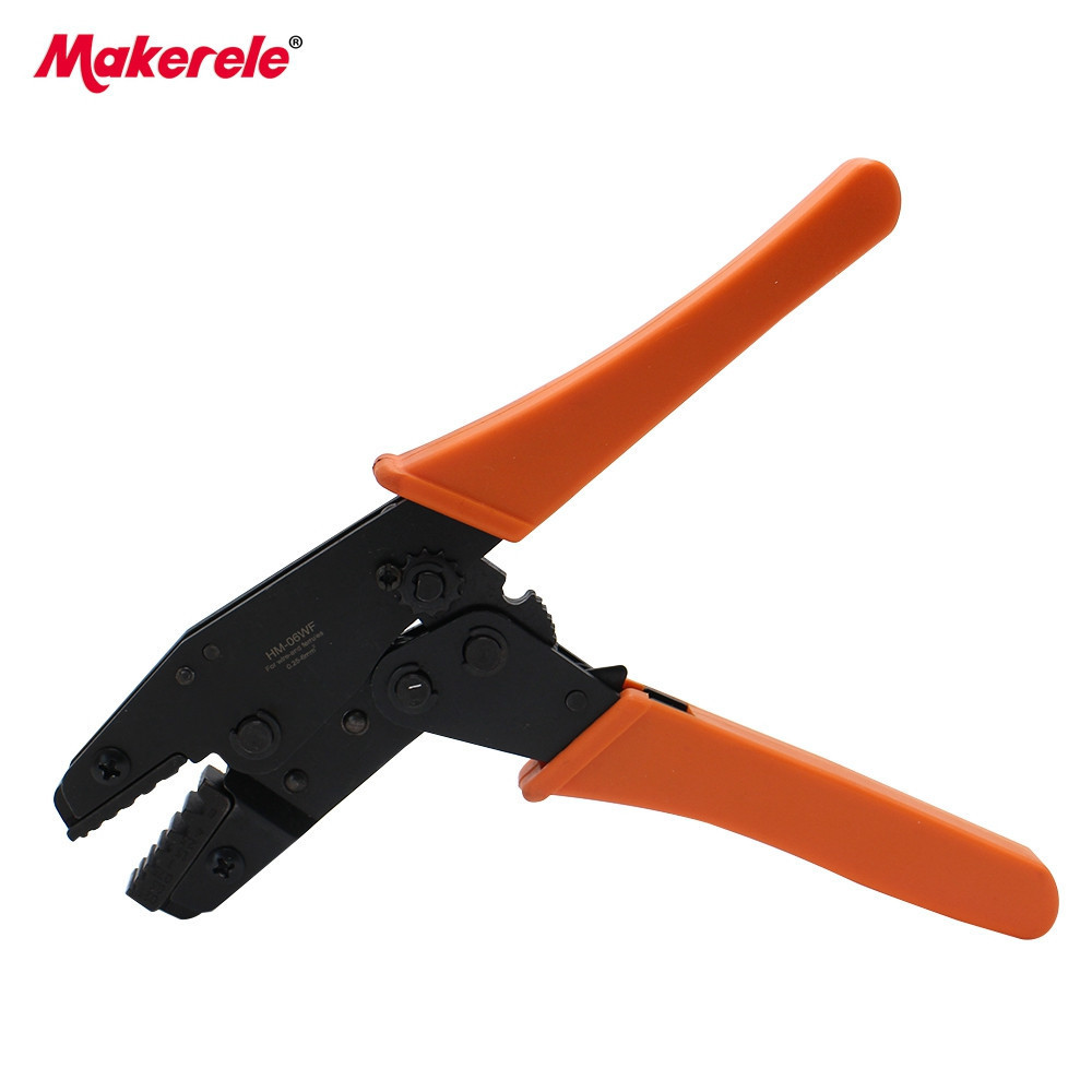 Ratchet wire crimping tool HM-06WF pliers 0.25-6.0mm2 electrical lug crimper tool for terminal crimper cable crimping tool Щипцы