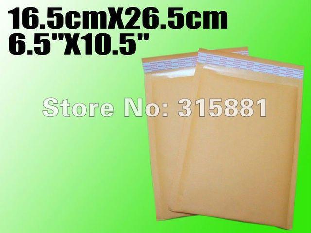 """Wholesale 6.5""""X10.5"""" 16.5cmX26.5cm  bubble envelope padded envelopes paper envelope bubble mailer bag"""