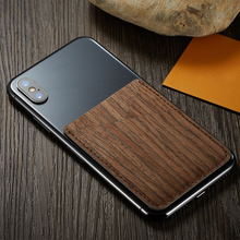 Card Holder Credit Pocket Fashion Mini Stick On Phone PU Leather Ultra Slim Multifunction Purse Wallet Wood Pattern Universal