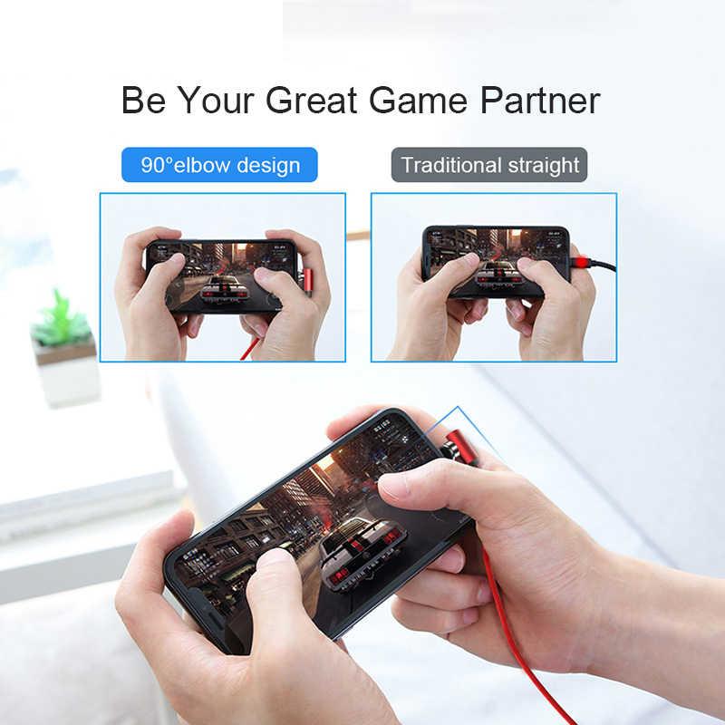 ¡! Cable magnético ACCEZZ carga rápida Micro USB tipo C para iPhone X XS MAX XR 8 carga magnética para Samsung cable de teléfono S10 2M