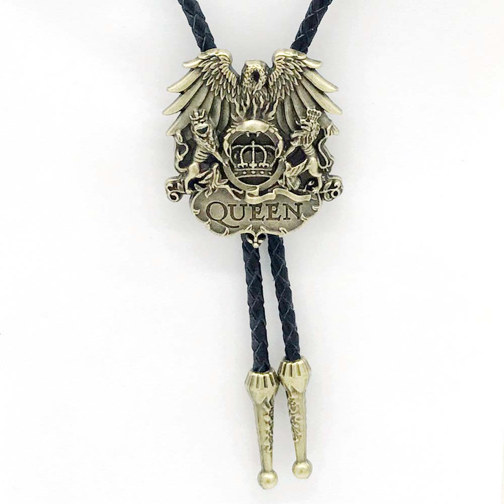 Gold Horse Head Western Cowboy Bola Bolo Ties Native American Rodeo Necktie