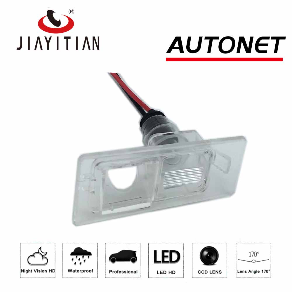 JIAYITIAN DIY Camera Bracket License Plate Lights Housing Mount For Kia Ceed 2 JD SportWagon 2012 2013 2014 2015 2016 2017 2018