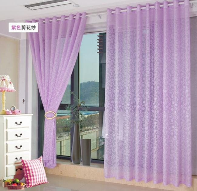 purple curtains living room tende viola per da letto modificare una pelliccia 14731