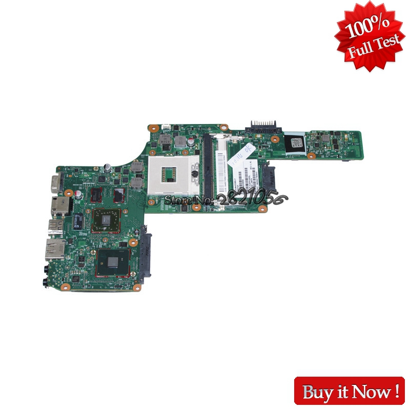 NOKOTION Mainboard For Toshiba Satellite L630 Notebook PC V000245050 Laptop Motherboard HM55 DDR3 HD5430 Discrete Graphics mbx 224 m960 laptop motherboard suitable for sony vpceb notebook pc mainboard a1771575a a1771577a hm55 available new