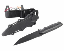 Decorative US Army AC-6019 Soft Plastic Knife Model Decoration for Airsoft Tactical Wargame Cosplay Outdoor Hunting Training