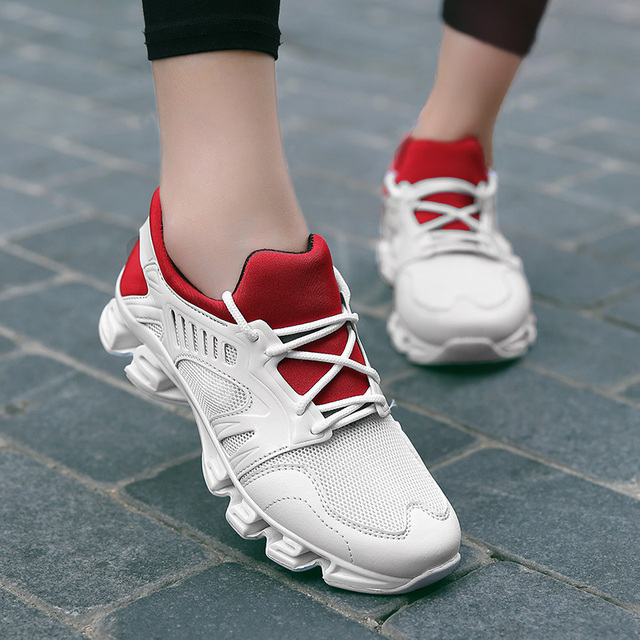 Golden Sapling Winter Women's Sneakers Cushioning Rubber Sport Shoes Woman Breathable Air Mesh White Sneaker Women Tennis Shoes