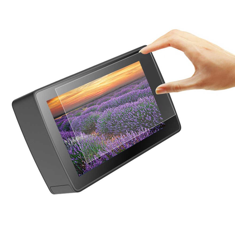 Bắn HD Màng Bảo Vệ Bảo Vệ Màn Hình Trong Cho Xiaomi Yi Lite Yi 4K 4K + Thể Thao Cam Bộ Dụng Cụ Dùng Cho yi 4K Camera Hành Động Bộ Phụ Kiện