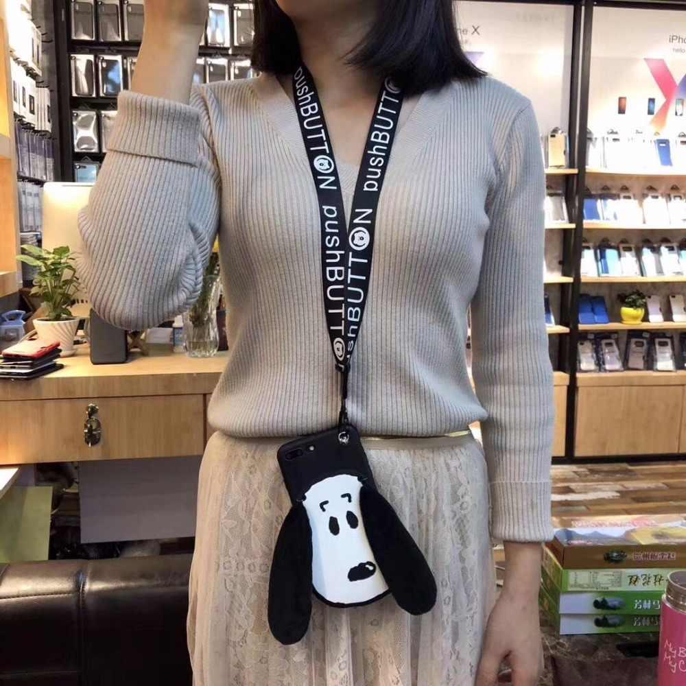3D милая собака Телефон чехол для huawei mate 9 10 8 pro P20 P10 P9 P8 плюс lite enjoy 6 8 7 s плюс Nova 3 3i 2 S плюс lite случаях