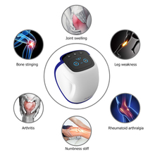 цена на LLLT 650nm Heating Laser Electric Knee Massager Knee Joint Sports Injury pain relief device