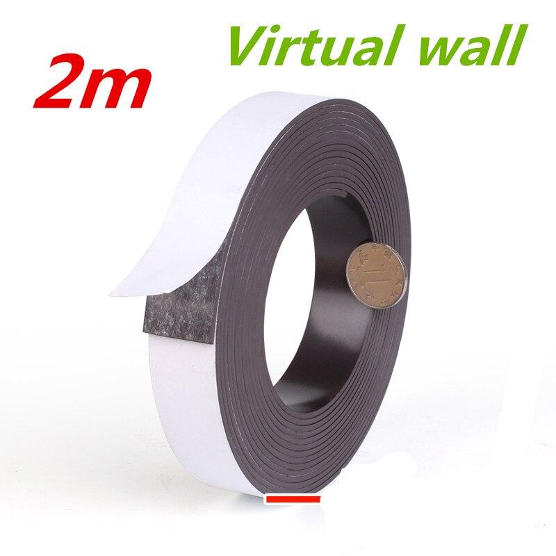 2 м Виртуальный лента Защитная стены для замены xiaomi Mi робот Neato XV botvac роботизированной BotVac 70e D75 D80 D85 xiaomi вакуум 2