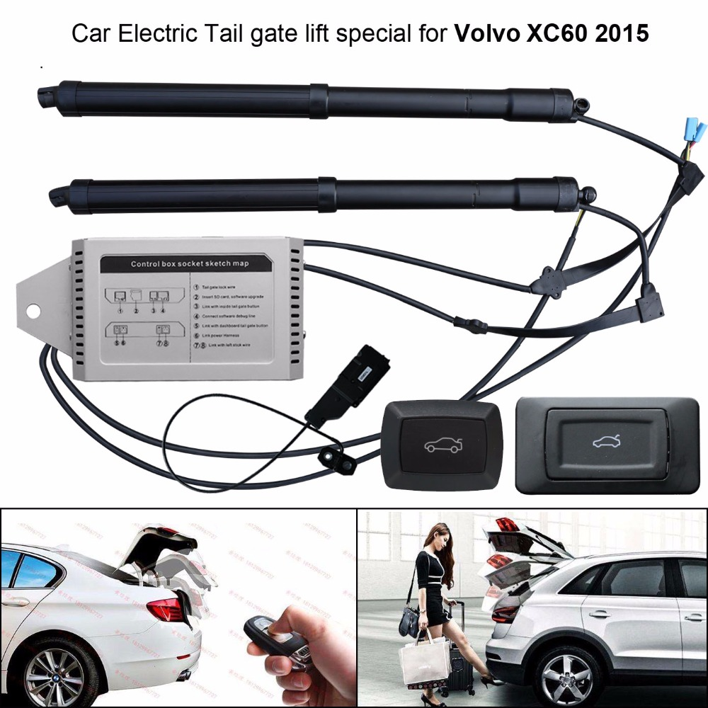 Car Electric Tail Gate Lift Special For Volvo XC60 2015 Easily For You To Control Trunk With Latch