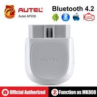 Autel AP200 Bluetooth OBD2 Scanner Code Reader Full System Diagnostic Tool AutoVIN EPB BMS SAS TPMS DPF IMMO PK MaxiCOM MK808