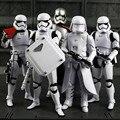 """6 tipos EP7 Capitão Phasma Desperta a Série Negra Darth vader Stormtrooper Snowtrooper 6 """"ação pvc fiugre modo de frio"""