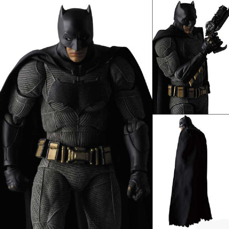 Marvel Batman vs Superman Dawn of Justice 16 cm Batman Display Model Toy Anime Super Hero Action Figure Toy Birthday Jouet Gift dc comics ation figure batman v superman dawn of justice armored batman action figure lighting eyes toy 17cm