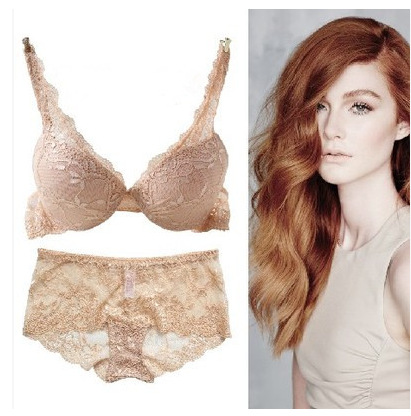 4079a0e8a Baharcelin 3 4 cup Sexy Women Bra Set Lace Embroidery Transparent Push Up  Bra Panty Set Underwear Bra Sets Plus Size Sexy Set -in Bra   Brief Sets  from ...