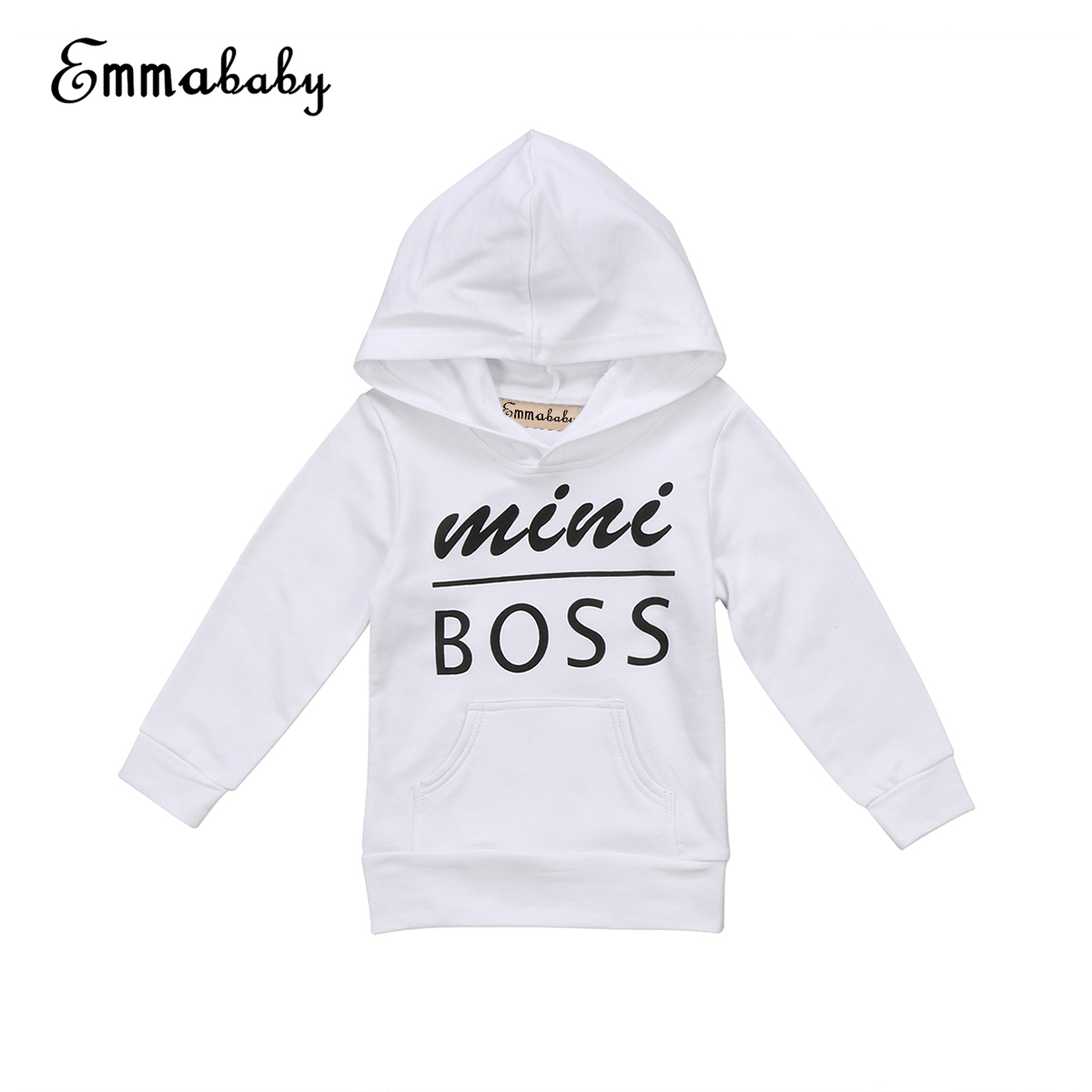 <font><b>Babies</b></font> Letter Hooded Pocket T-<font><b>shirt</b></font> Casual Toddler Newborn <font><b>Baby</b></font> Boy Girl Hoodie Tops Hooded Sweatshirt Outdoor 0-5Y Clothing image