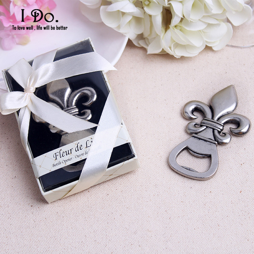 Free Shipping Fleur De Lis Bottle Opener Wedding Favors And Gifts