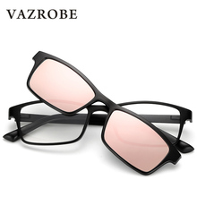 7e2afbeed0 vazrobe Clip on Polarized Sunglasses Men Women Prescription Sun Glasses for  Female