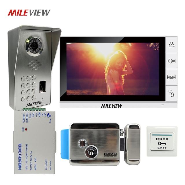 FREE SHIPPING Fingerprint Code Keypad 9  Monitor Video Door Phone Intercom System + Waterproof Outdoor  sc 1 st  AliExpress.com & Aliexpress.com - Online Shopping for Electronics Fashion Home ... pezcame.com