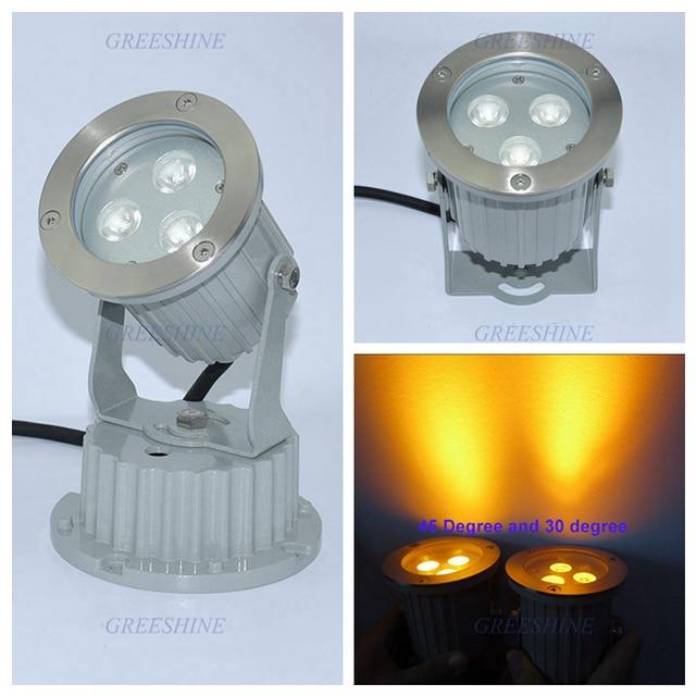 Warm white Led Garden Lamp Bulb Landscape Lighting 110V Waterproof IP65 Outdoor Lawn Flood Light 85-265V Red Green Blue White