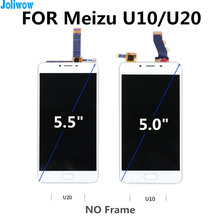 FOR Meizu U10 U20 LCD Display+Touch Screen+Tools Digitizer Assembly Replacement Accessories for Meilan U10 U20 LCD Touch Screen 100% new lcd screen display touch digitizer with frame for meizu u10 white color free shipping