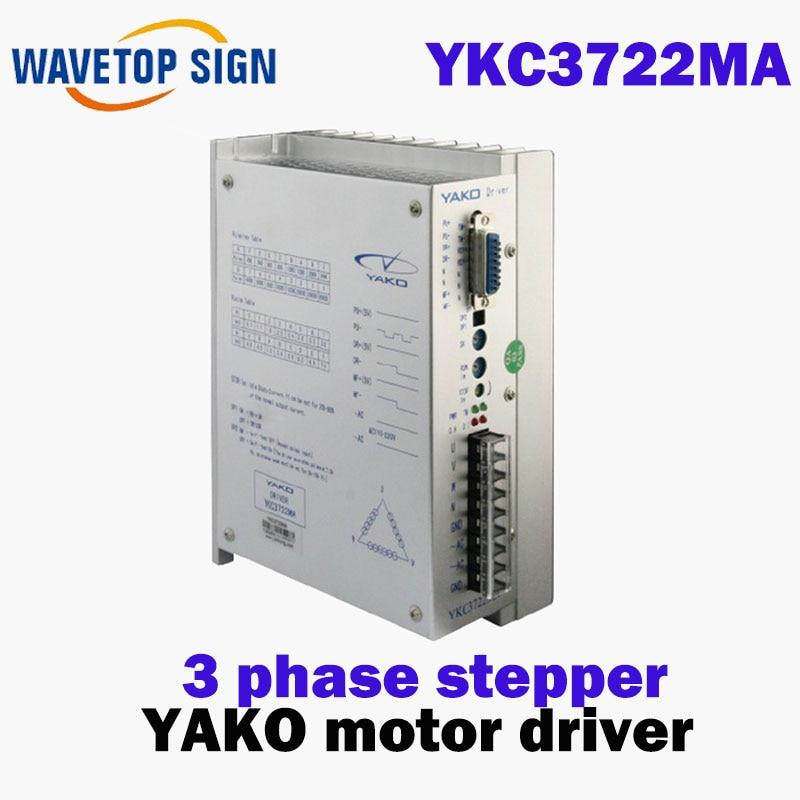 three phase Stepper Motor driver YKA3722MA YKB3722MA YKC3722MA Stepper motor driver yka3722ma ykb3722ma upgrade ykc3722ma yako research and control three phase driver 3d722