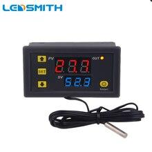 W3230 DC 12V 24V AC 110-220V Digital Temperature Controller Thermostat Regulator Heating Cooling Control Switch Sensor Meter