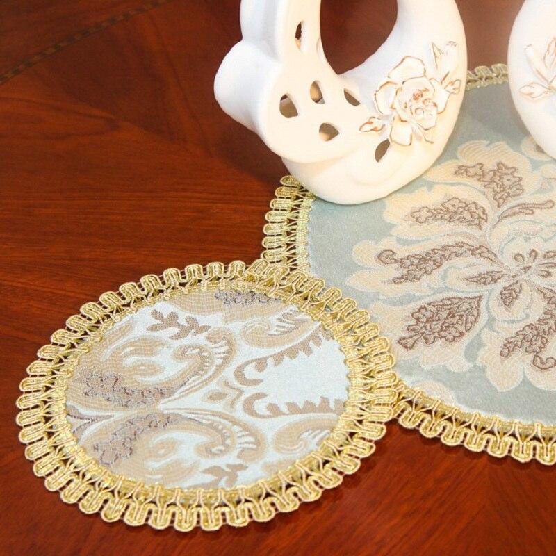 European Insulation pad Circular thickening Cup Coaster Nonslip Place Mat pads Cushion Minions Tea Holder